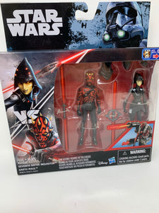 Star Wars Seventh Sister Inquisitor and Darth Maul