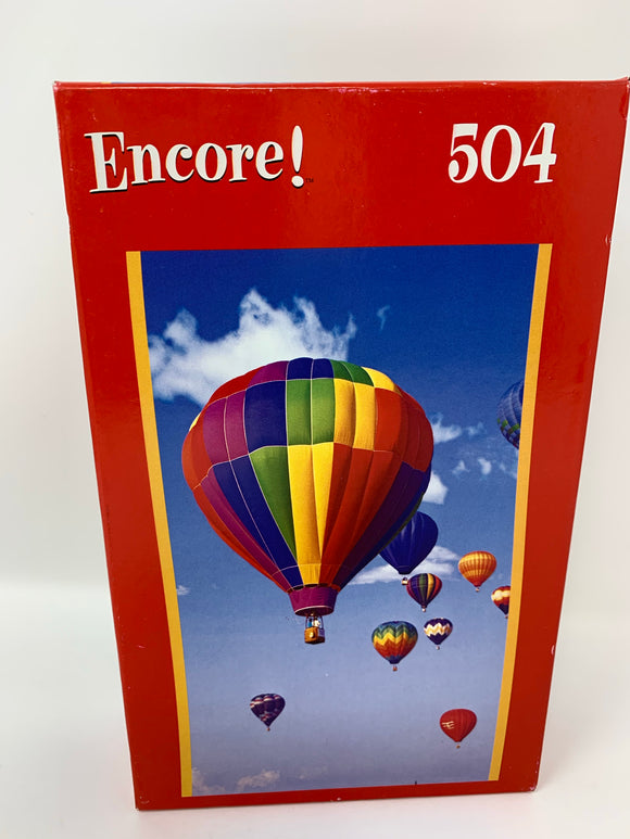 Hot Air Balloons 504 Piece Puzzle