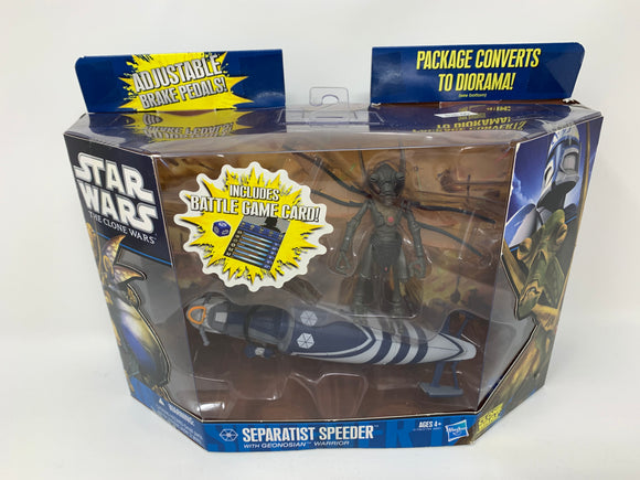 Star Wars Separatist Speeder with Geonosian Warrior