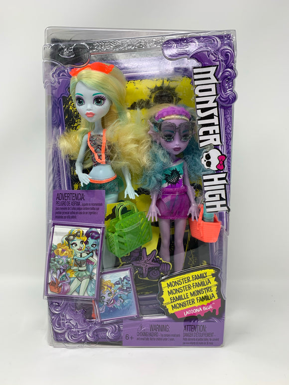 "Monster High: Monster Family ""Lagoona Blue"""