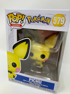 "Funko Pop!  ""Pichu"" Pokemon #579"