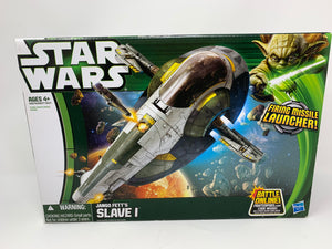 Star Wars Jango Fett's Slave I with Firing Missile Launcher