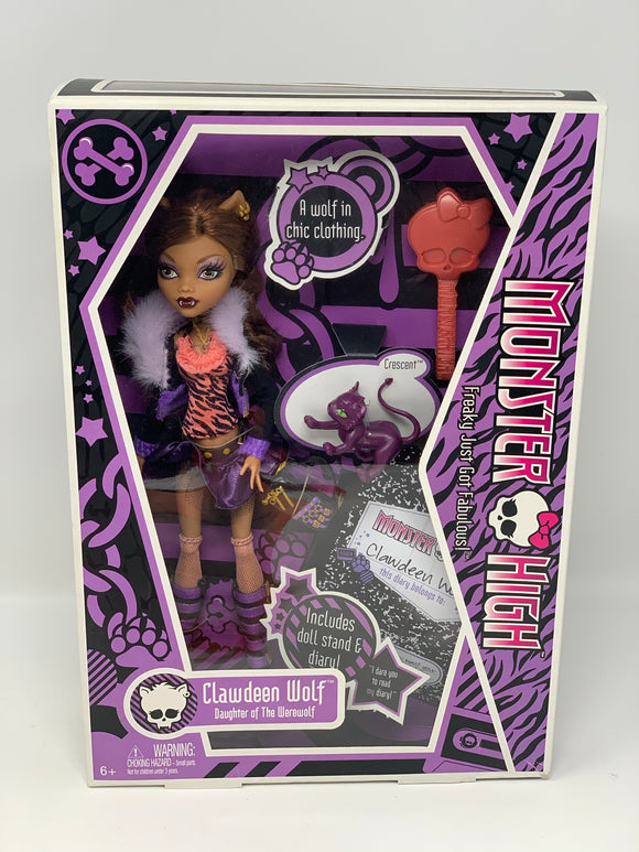 "Monster High ""Clawdeen Wolf"" First Wave"
