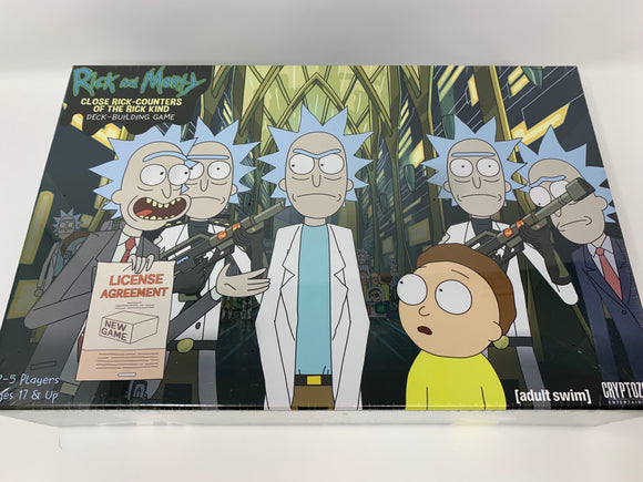 Rick and Marty Deck Building Game