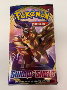 Pokémon Sword and Shield Booster Pack