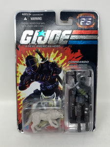 G.I. Joe 25th Anniversary 'Snake Eyes with Timber Wolf' Commando (v.29)