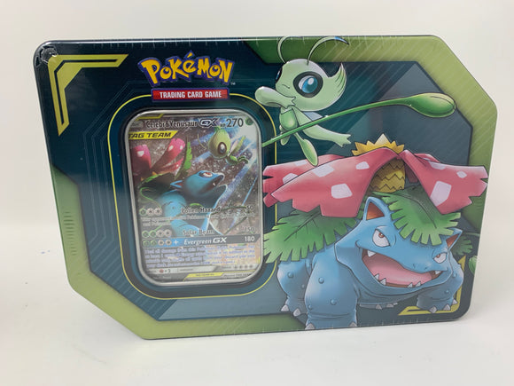 "Pokémon Tag Team GX Collector's Tin ""Celebi & Venusaur"