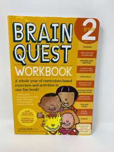 Brain Quest Workbook - Grade 2