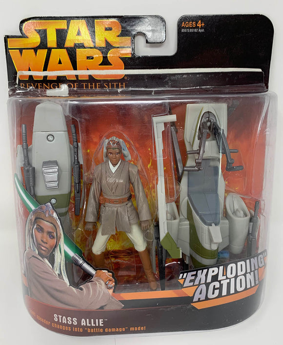 Star Wars Figure Stass Allie with BARC Speeder