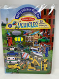 Melissa & Doug Vehicles Puffy Stickers