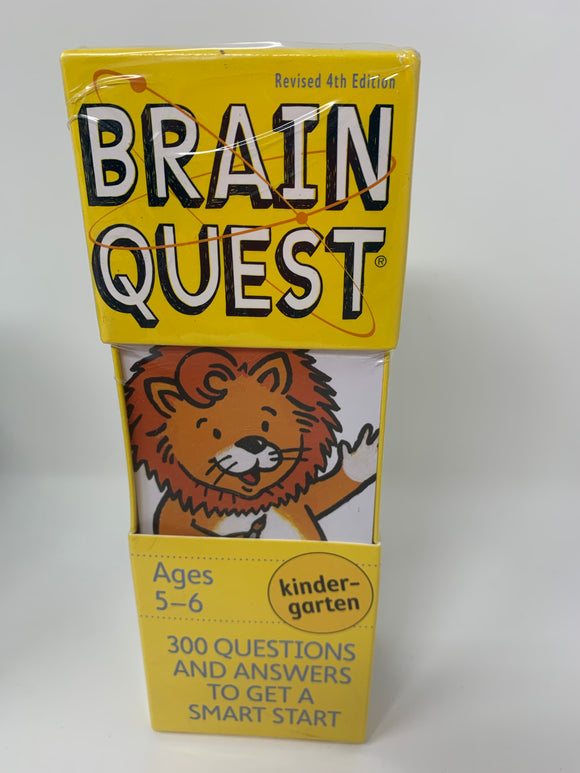 Brain Quest Deck: Ages 5-6, Kindergarten