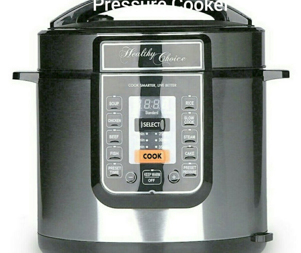 6ltr Healthy Choice Pressure Cooker