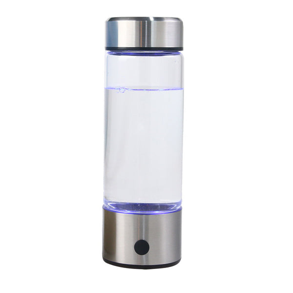 420ML Hydrogen Water Generator Alkaline Maker Rechargeable Portable for pure H2 hydrogen-rich water bottle electrolysis