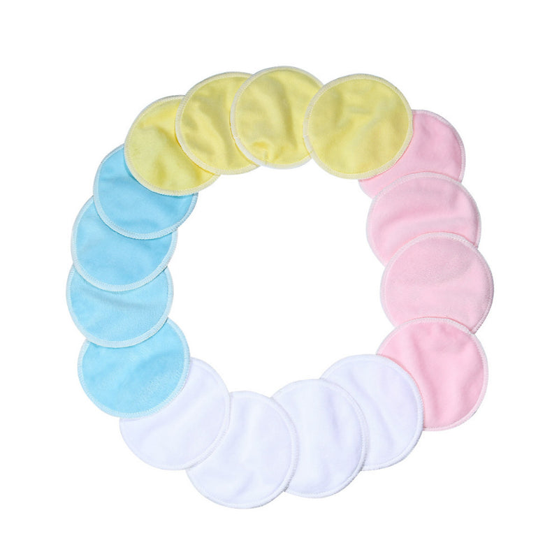 Reusable Colorful Bamboo Makeup Remover Pads