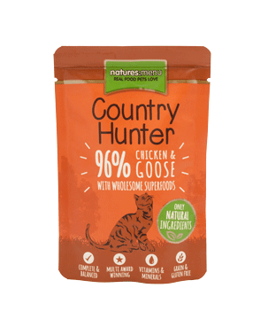 Natures Menu Country Hunter Cat Pouch Chicken & Goose 85g