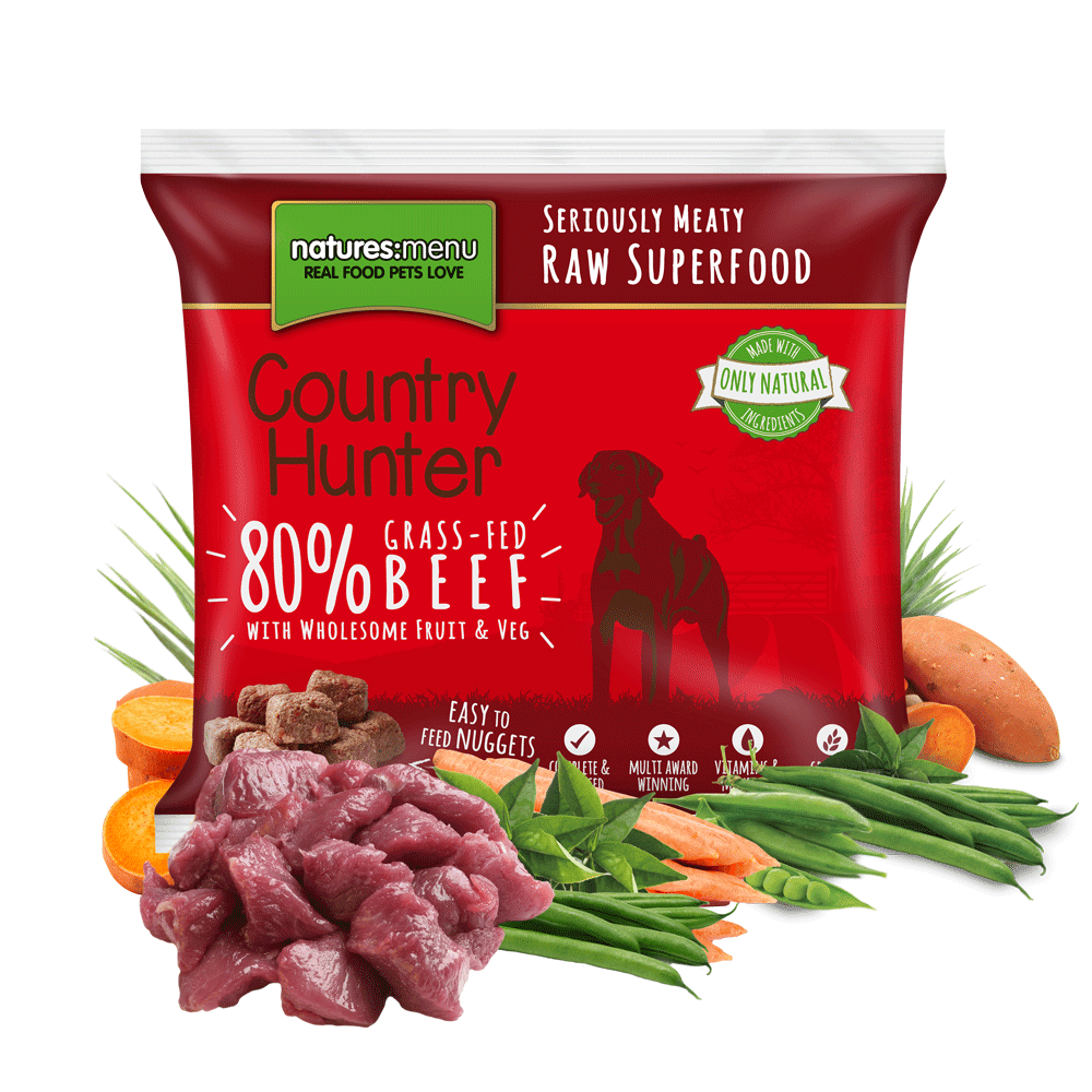 Natures Menu Country Hunter Grass-Fed Beef 1KG