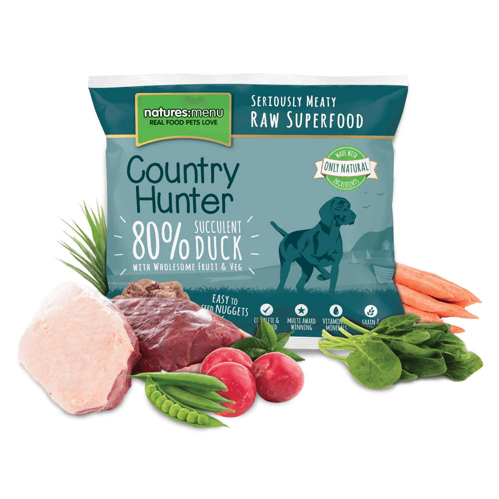 Natures Menu Country Hunter Duck Nuggets 1kg