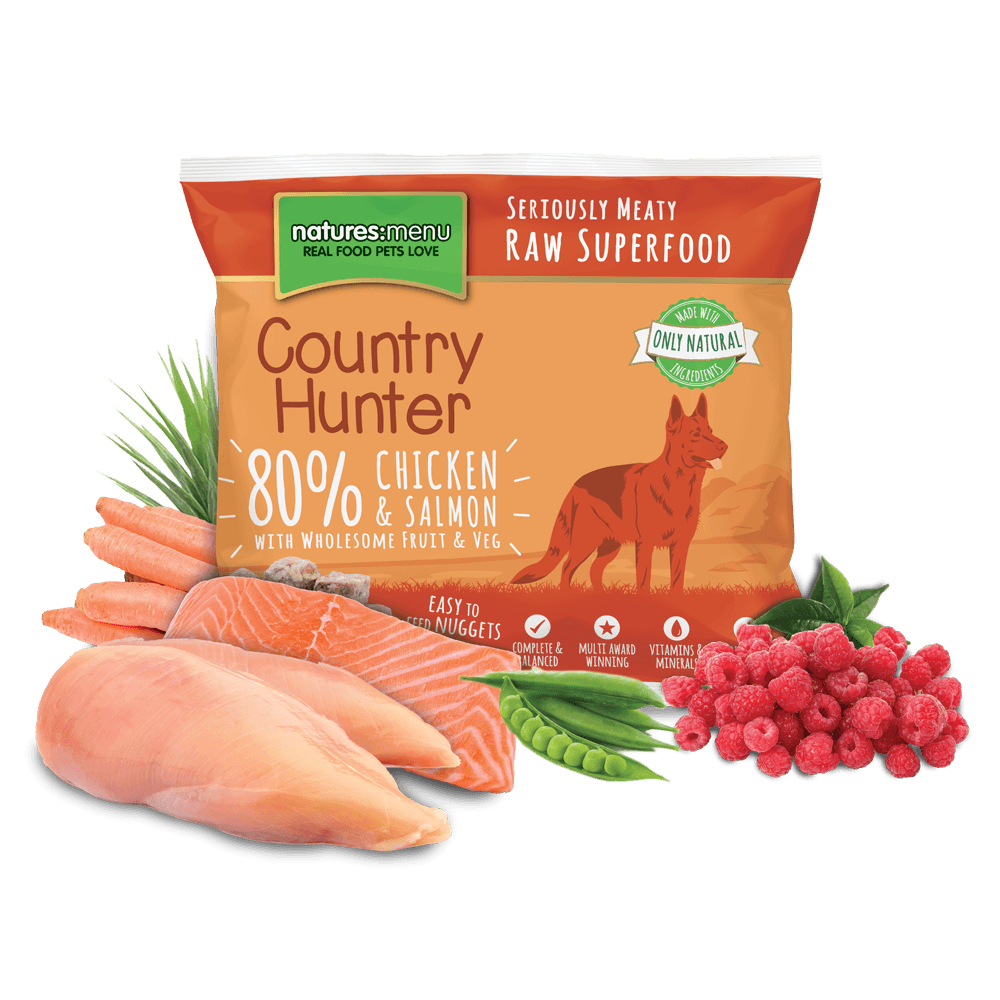 Natures Menu Country Hunter Chicken & Salmon Nuggets 1kg