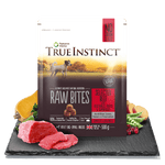 True Instinct Raw Bite Beef Small Breed Dog 500g