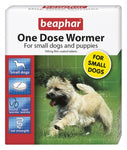 Beaphar One Dose Wormer for Small Dogs 3 Tabs