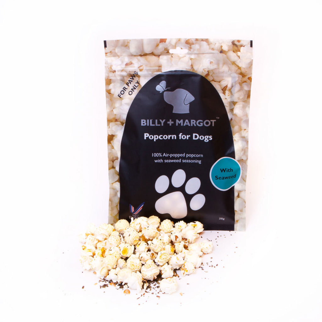 Billy And Margot Popcorn With Seaweed 20g