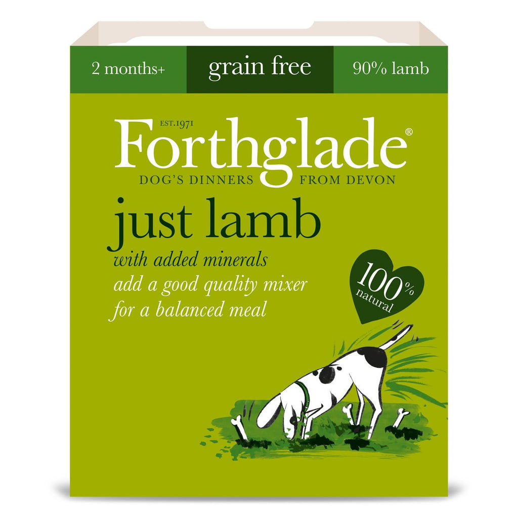 Forthglade Just Lamb Grain Free Wet Dog Food 395g