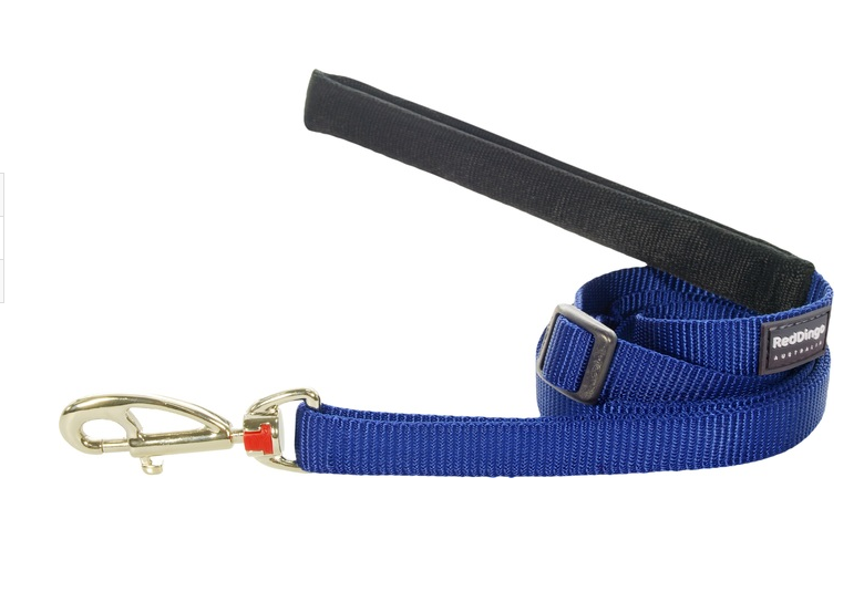Red Dingo Plain Dark Blue 1.8m Dog Lead