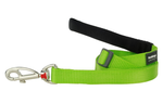 Red Dingo Plain Lime Green 1.8m Dog Lead