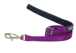 Red Dingo Plain Purple 1.8m Dog Lead