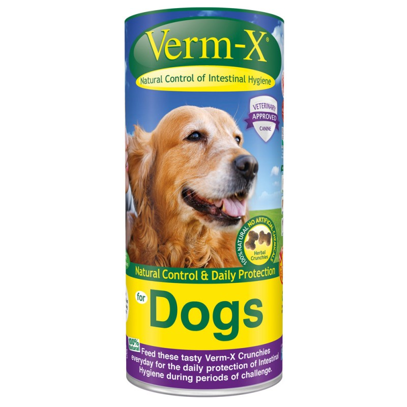 Verm X Treats Herbal For Dogs 100g