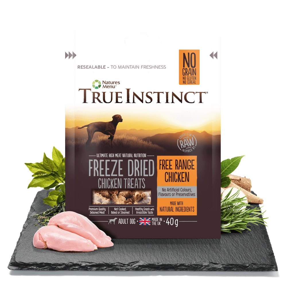 True Instinct Freeze Dried Treat Chicken Adult Dog 40g