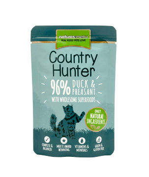 Natures Menu Country Hunter Pheasant & Duck Cat Pouch 85g