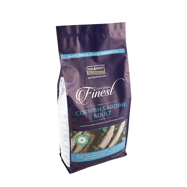 Fish4Dogs Finest Sardine Adult (Small Kibble) 6kg