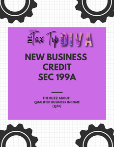 NEW BUSINESS CREDIT (SEC 199A) E-SHEET