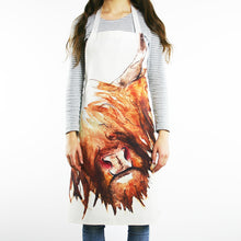 Load image into Gallery viewer, Highland Cow Hairy Coo Cotton Apron | Clare Baird