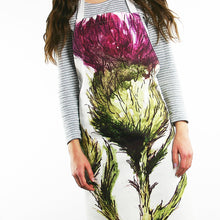 Load image into Gallery viewer, THISTLE - FLOWER OF SCOTLAND APRON