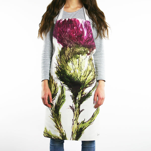 THISTLE - FLOWER OF SCOTLAND APRON