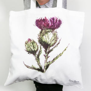 Thistle/Flower of Scotland Bag
