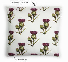 Load image into Gallery viewer, THISTLE - FLOWER OF SCOTLAND CUSHION