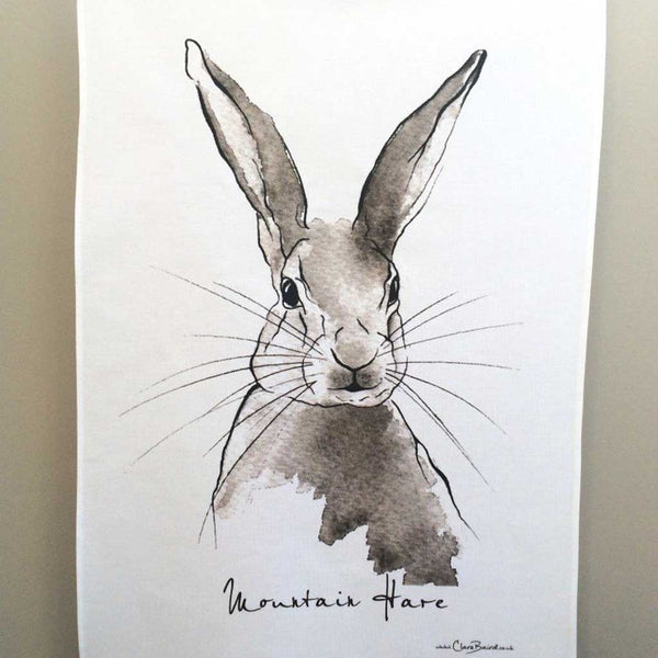 MOUNTAIN HARE TEA TOWEL