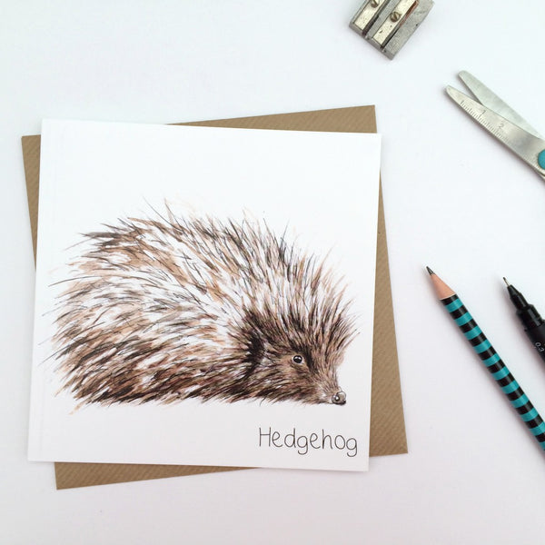 Hedgehog Greeting Card | Clare Baird