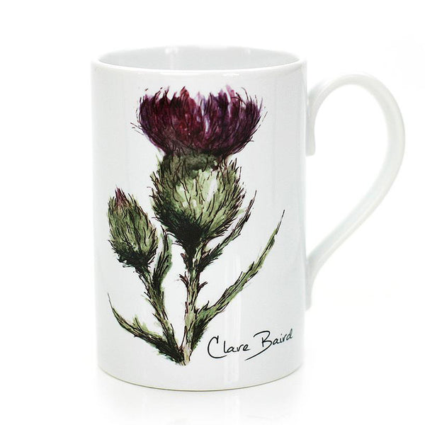 THISTLE - FLOWER OF SCOTLAND PORCELAIN MUG