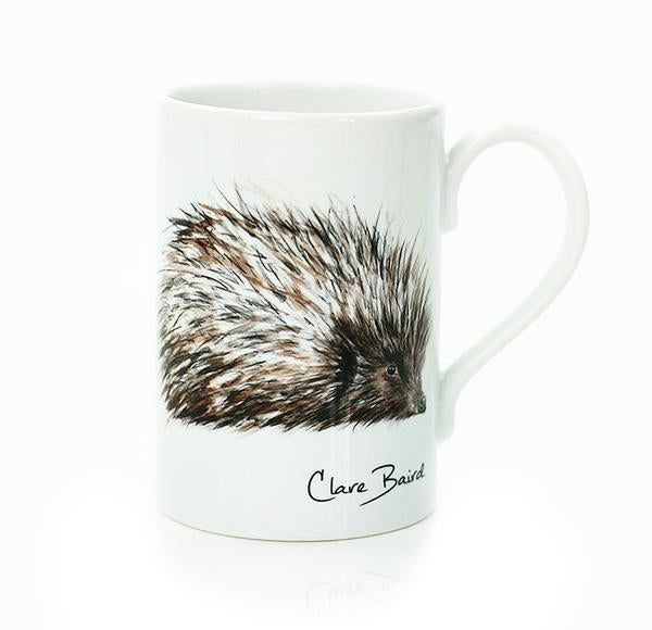 Hedgehog Wildlife Porcelain Mug | Clare Baird