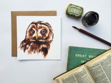 Load image into Gallery viewer, TAWNY OWL CARD