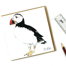 Load image into Gallery viewer, Puffin Card