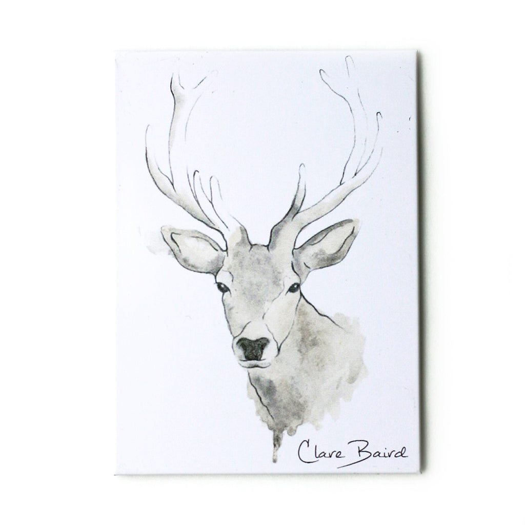Highland Stag Fridge Magnet