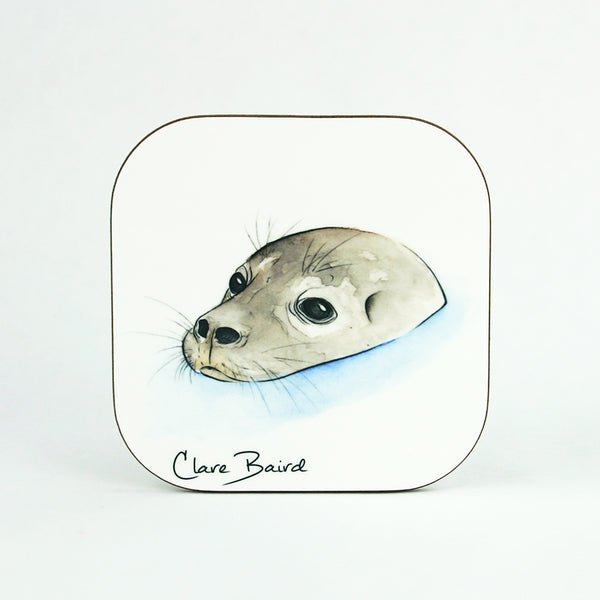 Grey Seal Coaster Gifts | Clare Baird