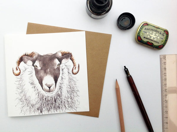 Ewe Greetings Card Farm Animals | Clare Baird