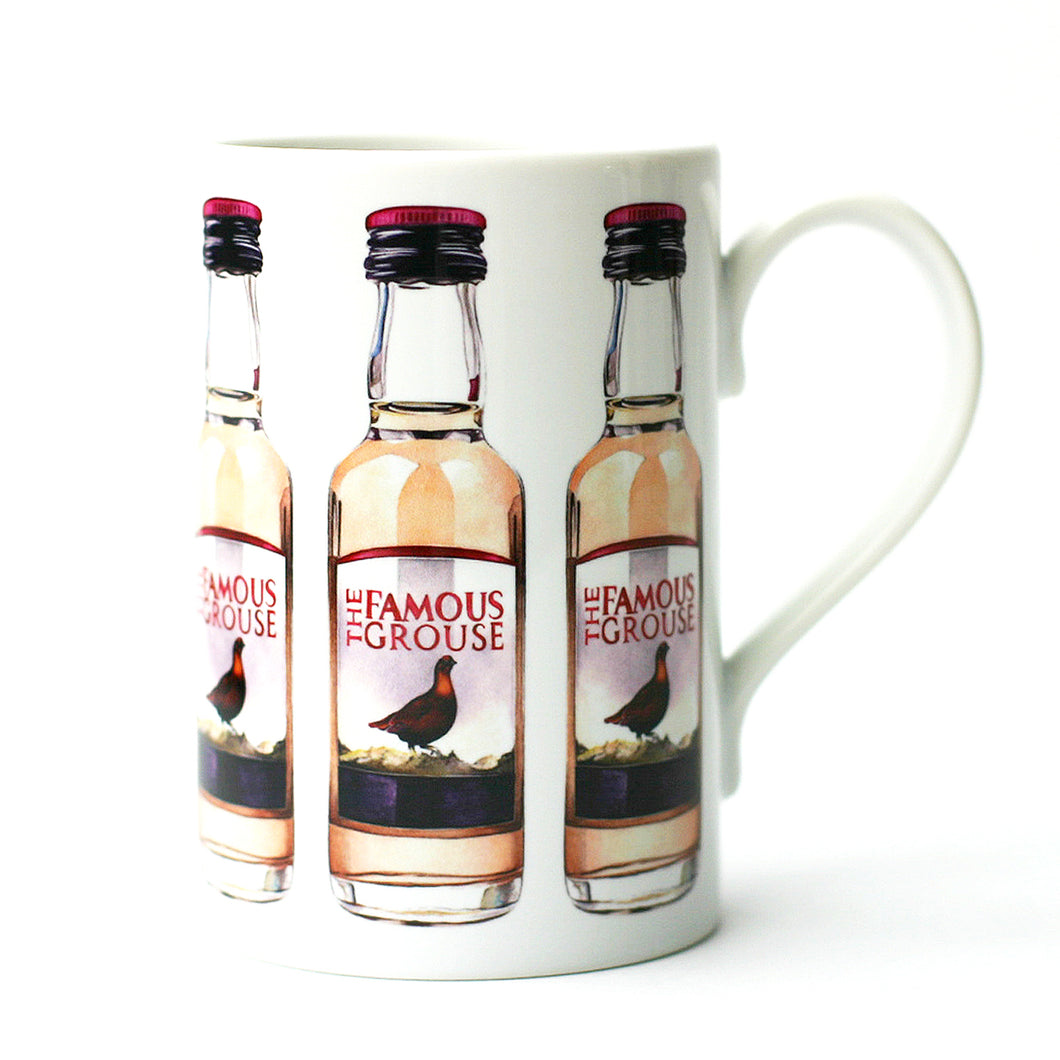 THE FAMOUS GROUSE MINIATURE PORCELAIN MUG
