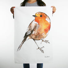 Load image into Gallery viewer, Robin Tea Towel